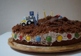 Krtkův dort pro kluky – speciální truck trialová verze