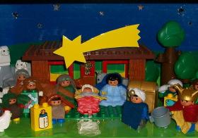 Náš LEGO DUPLO betlém