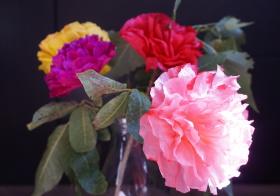 Fotonávod na papírovou květinu