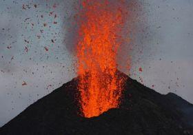 Výstava vulkánů a domácí sopka