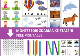 Montessori inspirace